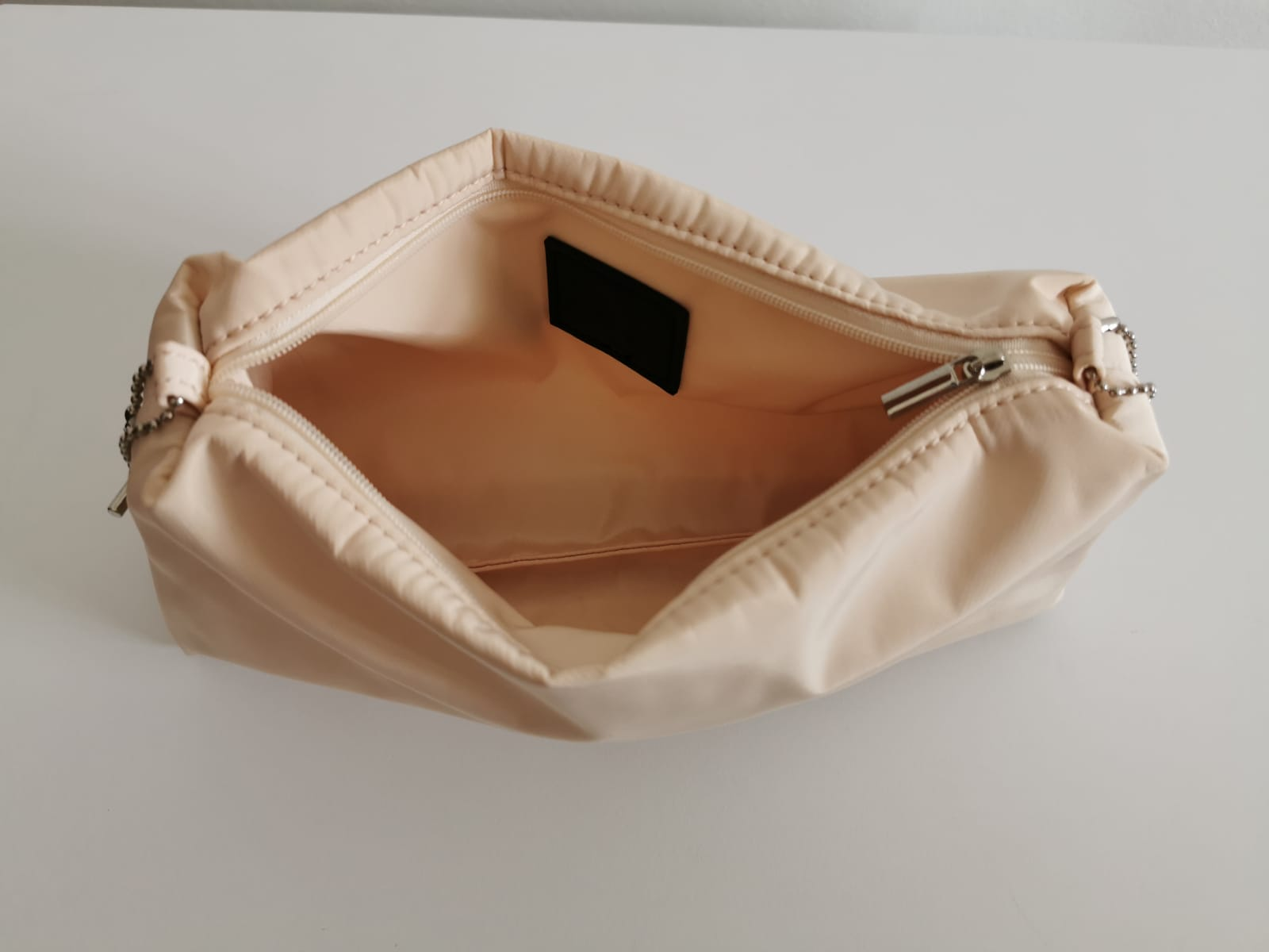 Rete Bag With Beige Pouch