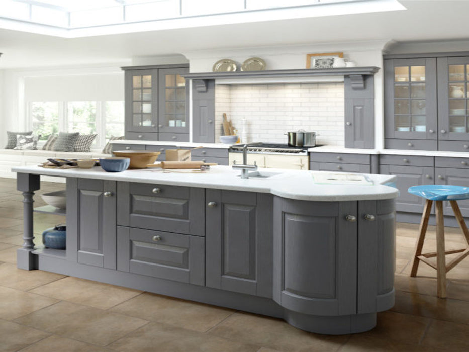 895 Albany Painted Curved Kitchen Door