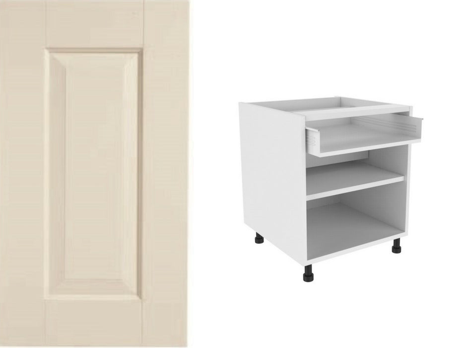 Hampton Painted Door and 720 x 300 Single Drawer Line Base Kitchen unit