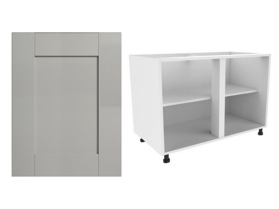 Fenwick Matte Door and 720 x 1000 Double Base Sink Unit