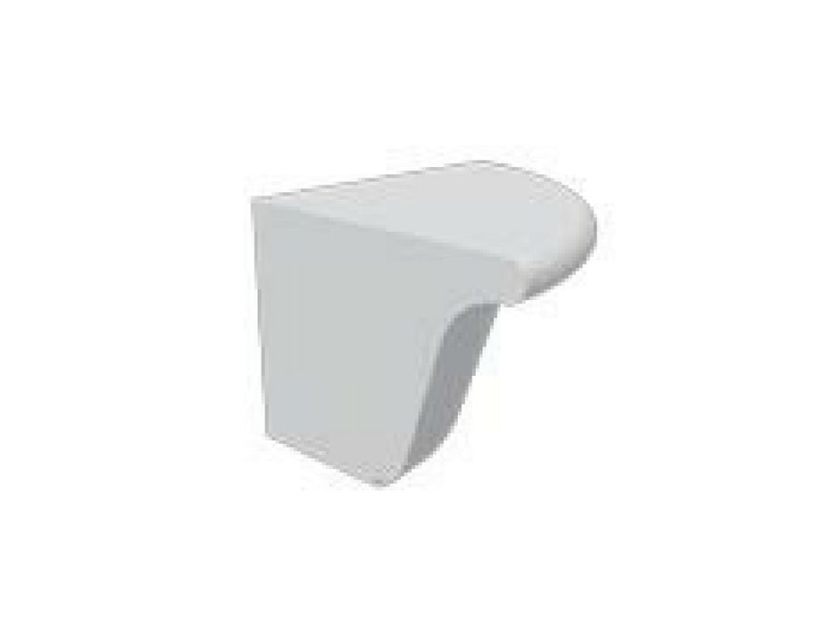 Wakefield Painted Quadrant End Block for Standard Cornice
