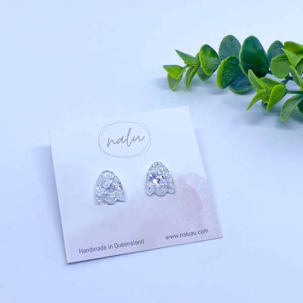 Petite BROOKE Studs - Diamonds