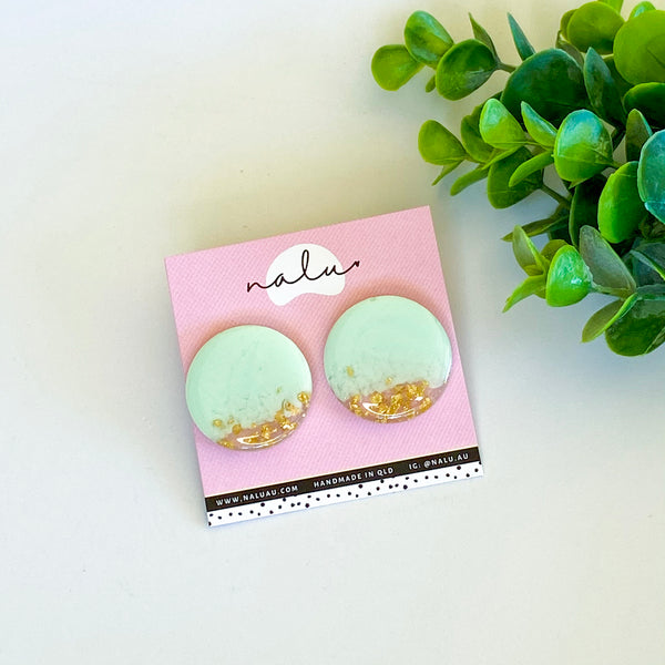 Maxi LUCY Studs - Mint to Be