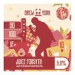 Juice Forsyth - IPA - Brew York