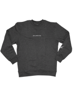 BON APPÉTITTIES HEATHER CHARCOAL SWEATSHIRT