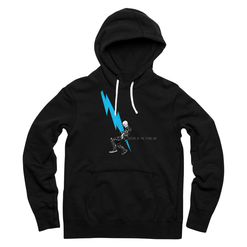 Lightning Dude Pullover Hoodie - Queens of the Stone Age