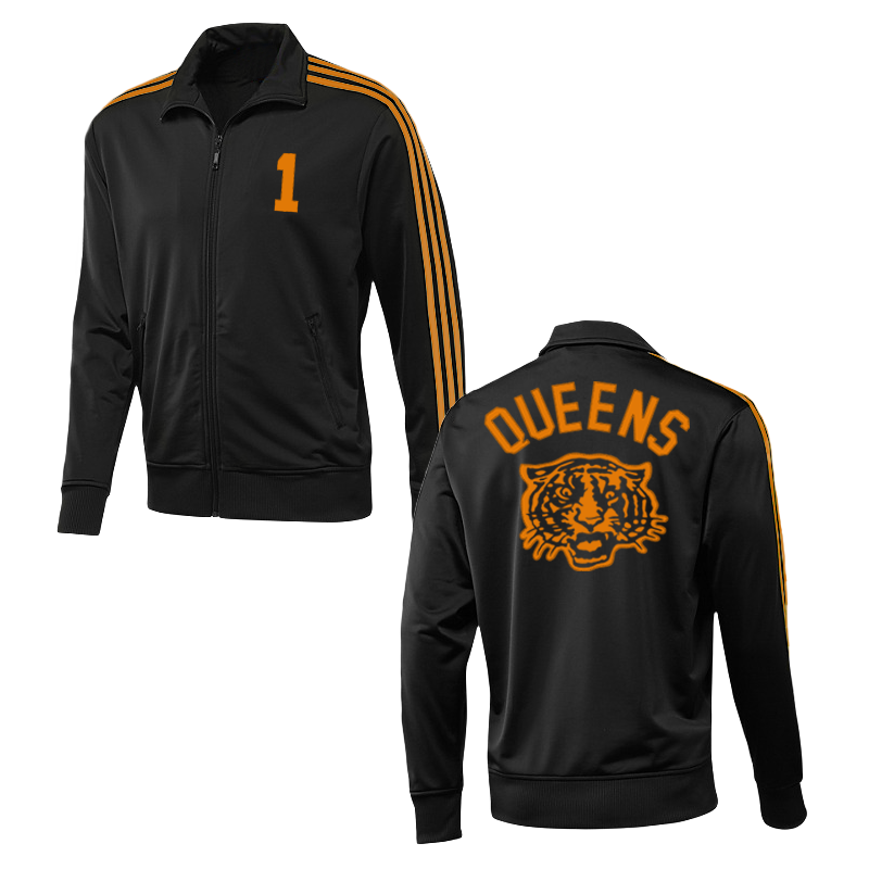 Tiger Track Jacket (Black w/ Orange) - Queens of the Stone Age
