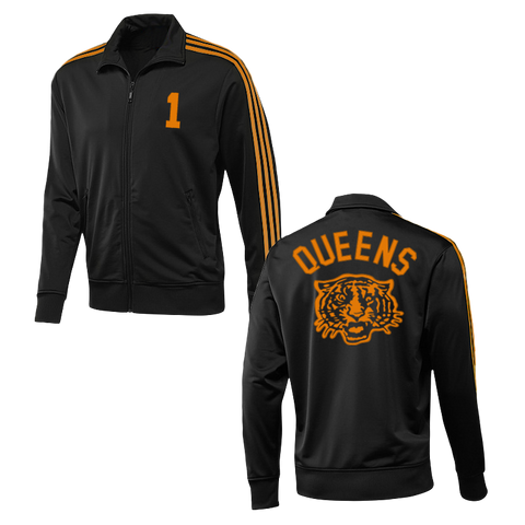 Tiger Track Jacket (Black w/ Orange)