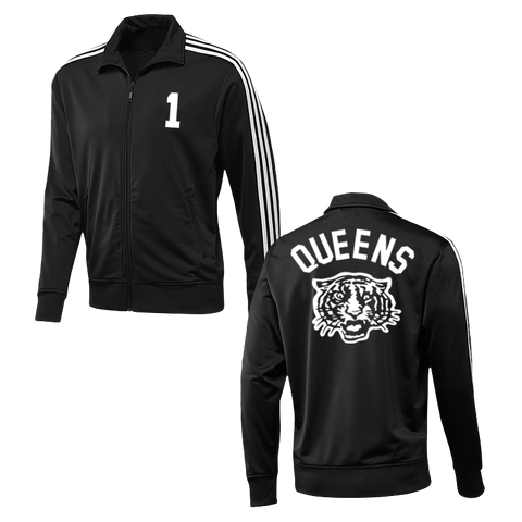Tiger Track Jacket (Black w/ White)