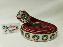 Load image into Gallery viewer, Wreath Dog Leash/Collar Set-Small