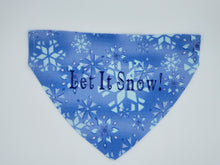 Load image into Gallery viewer, Dog Bandana-Let It Snow!