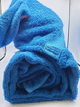 Load image into Gallery viewer, Kids Hoodie Bunny Bath Towel