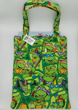 Load image into Gallery viewer, Turtle Crayon/Coloring Book Tote Bag