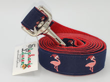 Load image into Gallery viewer, Flamingo Dog Leash/Collar Set-Large