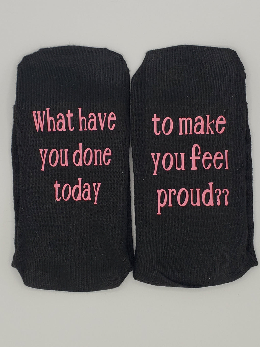 What have you done today-Black Women's Socks