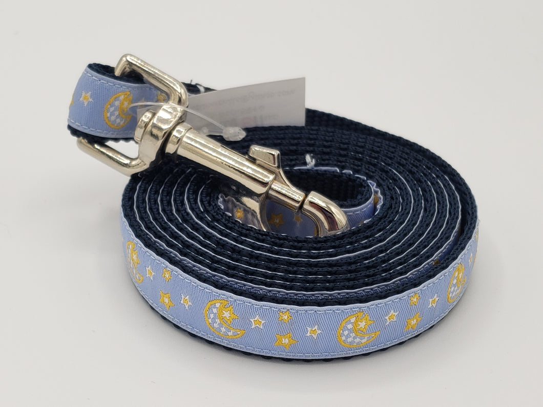 Moon & Stars Dog Leash-Small