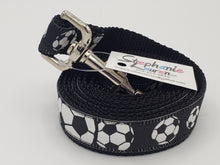 Load image into Gallery viewer, Soccer Dog Leash/Collar Set-Large