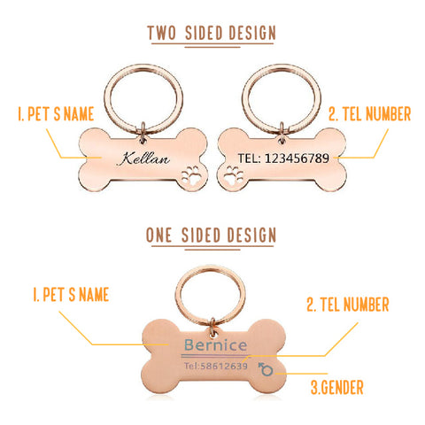 Personalized Pet ID Tag Customization Cheap Best In the world Dog Lover