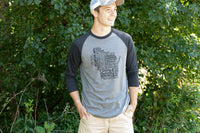 Men's Wisconsin 3/4 Sleeve Tee