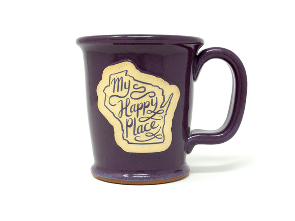 My Happy Place Mug - Imperial Purple