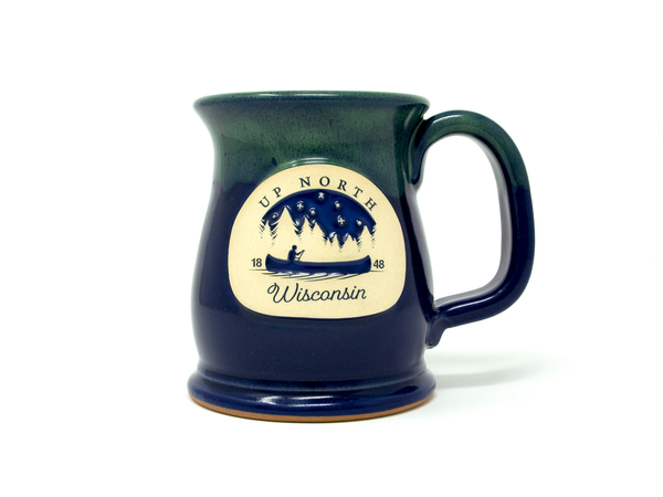 Up North Wisconsin Mug - Royale Moss