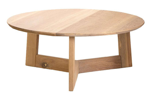Bergen Coffee Table, Low Natural - Sofa Company