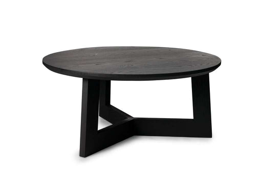 Bergen Coffee Table, Low Black - Sofa Company