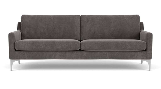 Astha, 3-seater sofa, Danny Steel Grey - Sofa Company