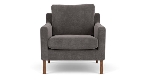 Astha Chair, Danny Steel Grey - Sofa Company