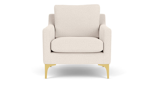 Astha Chair, Maya Cream - Sofa Company