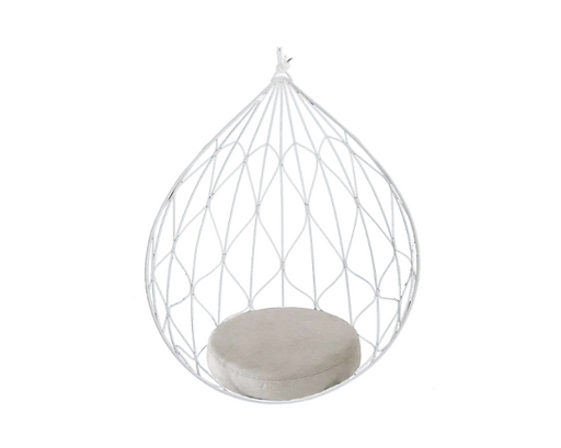 Calabash Hanging Pod Chair - White - Sofa Company