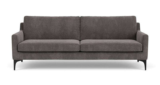 Anna, 3-Seater, Danny Steel Grey - Sofa Company