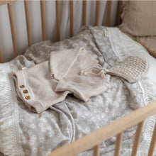 Load image into Gallery viewer, Mini Daisy (Sage) Fringe Swaddle