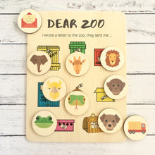 Load image into Gallery viewer, Dear Zoo- Activity Board and Discs