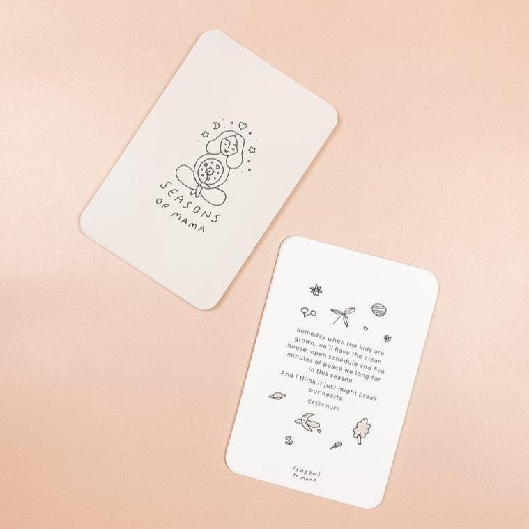 Mama Mantra Cards with stand