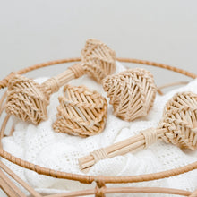Load image into Gallery viewer, Rattan Egg Shakers