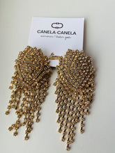 Load image into Gallery viewer, Crystal cascade earrings