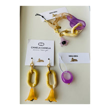 Load image into Gallery viewer, Lucite earrings