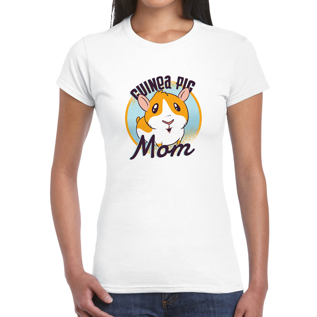 Guineapig Mom   Women's T-Shirt