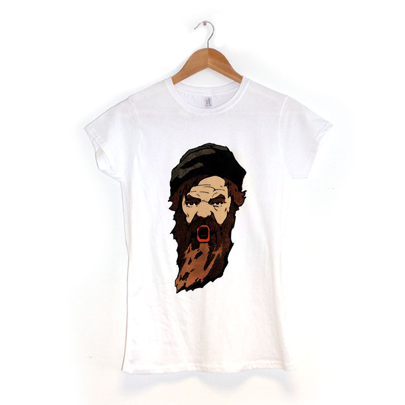 Bearded Man - Women's T-Shirt