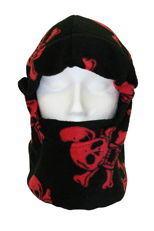 Red Skull Balaclava Ski Mask
