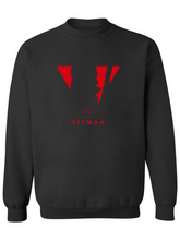 Load image into Gallery viewer, Heavy Blend Crewneck Sweatshirt - Hitman 20 Year Anniversary Red