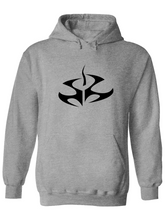 Load image into Gallery viewer, Heavy Blend Hooded Sweatshirt - Hitman Fleur De Lis Black