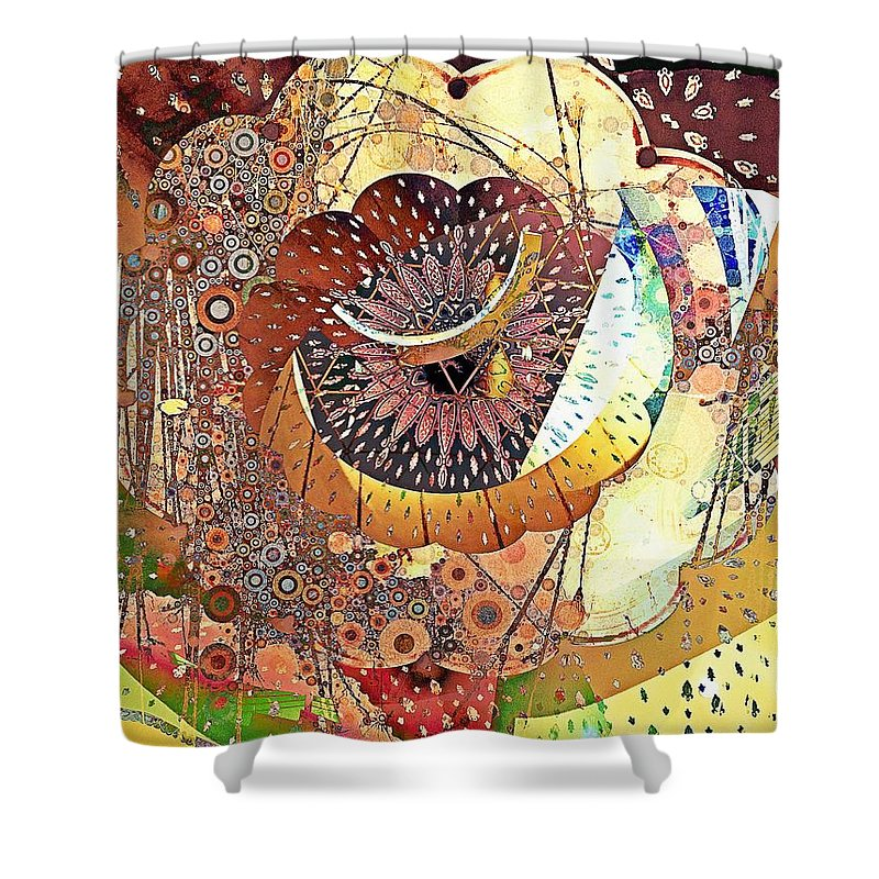 Cosmos - Shower Curtain