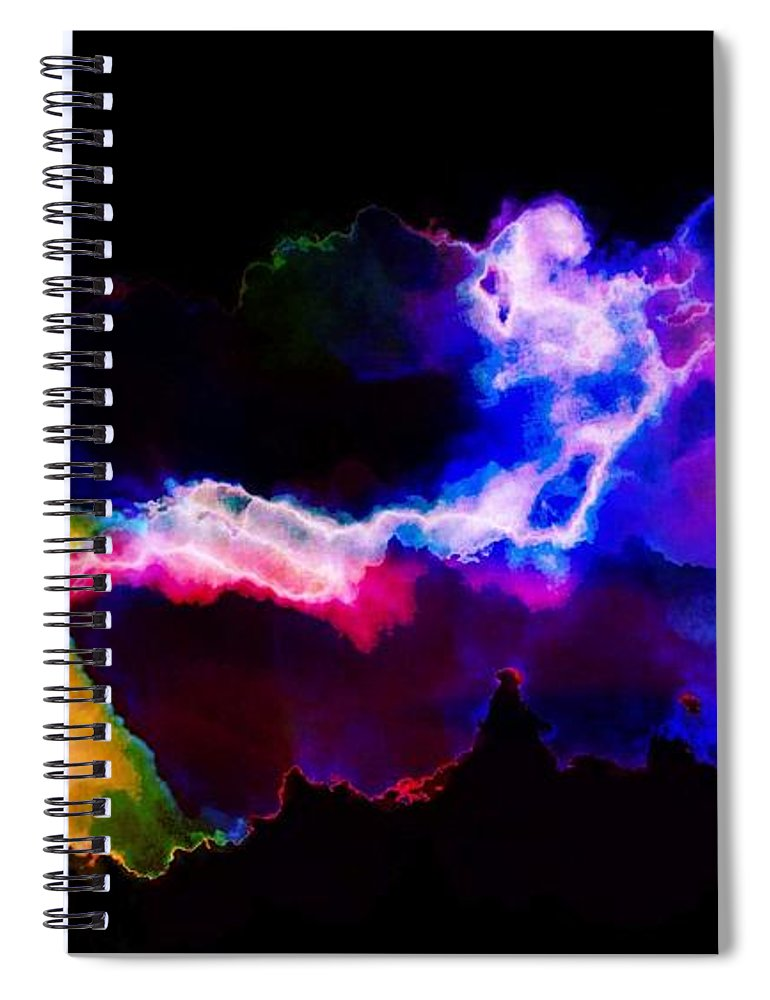 Electrified - Spiral Notebook