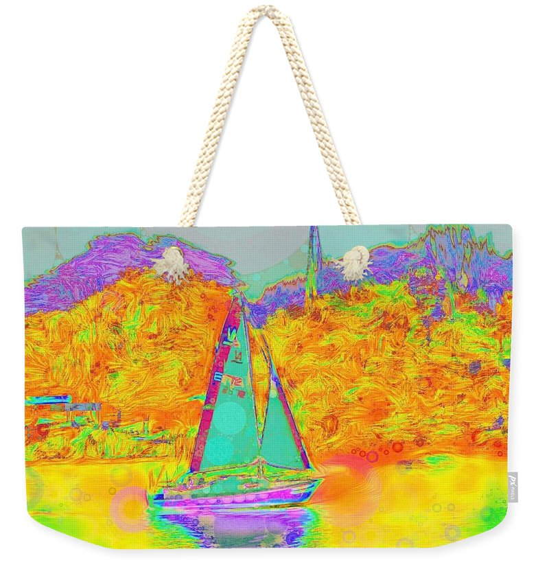 Summer Sail - Weekender Tote Bag