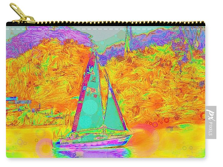 Summer Sail - Carry-All Pouch