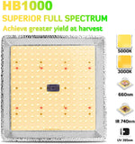 HB1000 LED Grow Light
