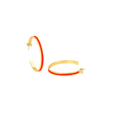 Créoles Bangle tangerine by Bangle up