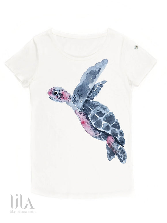 T-Shirt Tortue Adulte By Nach Vêtements